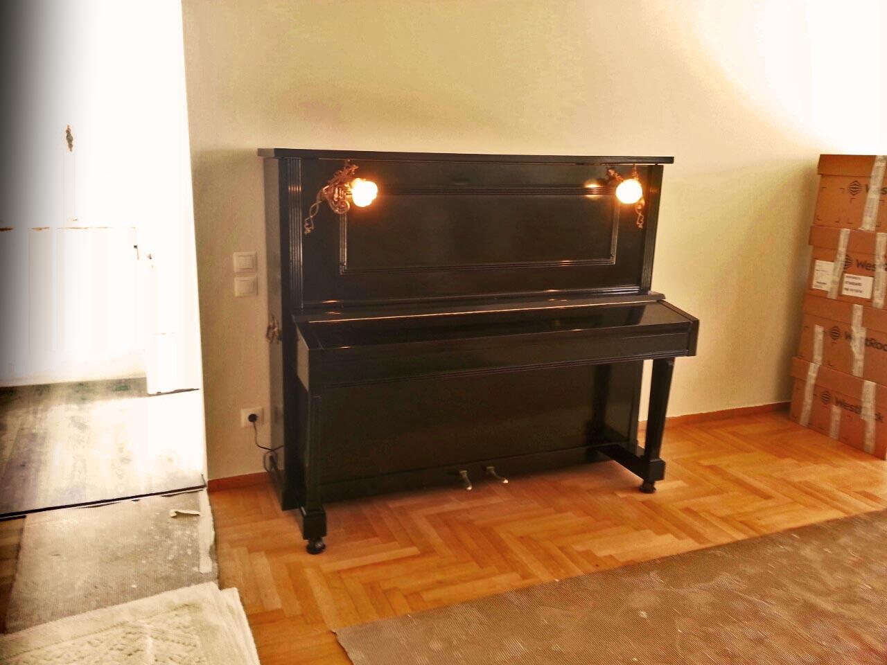 Ασφαλής μεταφορά πιάνου από σπίτι